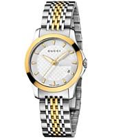 499c6657934 Gucci Women s Swiss G-Timeless Stainless Steel Bracelet Watch 27mm YA126511