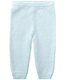 Ralph Lauren Baby Neutral Cotton Pull-On Pants