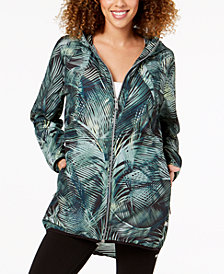 Calvin Klein Performance Mustique Printed Packable Jacket