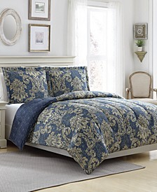 New Traditional Reversible 3-Pc. Comforter Sets