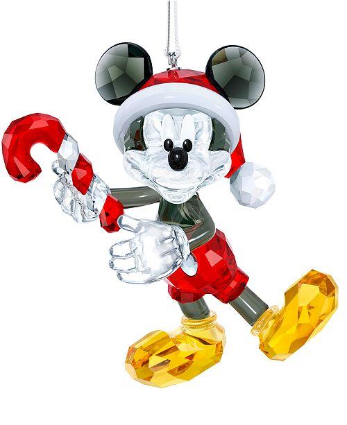 a4a8fe6d7 Swarovski Mickey Mouse Christmas Ornament & Reviews - Christmas ...