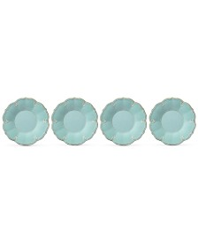 Lenox French Perle Melamine Set of 4 Accent Salad Plates