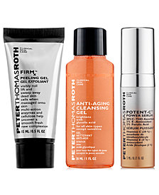 Receive a FREE skincare trio with $60 Peter Thomas Roth purchase! (a $23 value!)