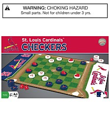 MasterPieces St. Louis Cardinals Checkers