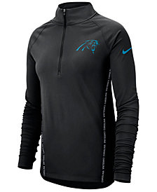 Nike Women's Carolina Panthers Element Core Half-Zip Pullover