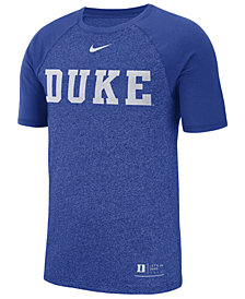 Nike Men's Duke Blue Devils Marled Raglan T-Shirt