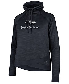 '47 Brand Women's Seattle Seahawks Commuter Funnelneck Sweatshirt