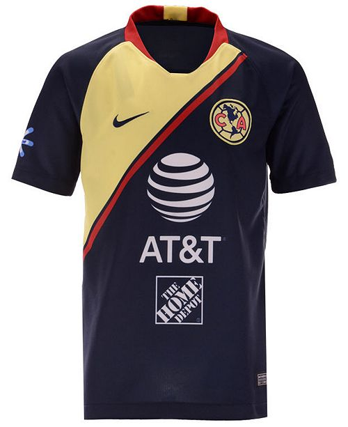 outlet store 8b1f5 07ba2 Club America Club Team Home Stadium Jersey, Big Boys (8-20)
