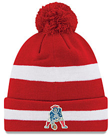 New Era New England Patriots Pom Knit