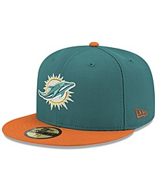 Miami Dolphins Team Basic 59FIFTY FITTED Cap
