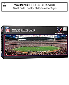 MasterPieces Houston Texans 1000 Piece Panoramic Puzzle