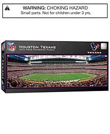 MasterPieces Houston Texans 1000 Piece Panoramic Puzzle