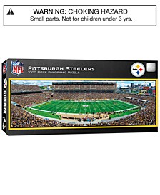 MasterPieces Pittsburgh Steelers 1000 Piece Panoramic Puzzle