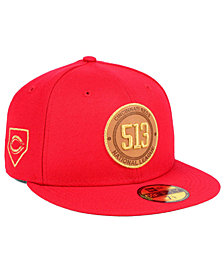 New Era Cincinnati Reds Area Patch 59FIFTY FITTED Cap