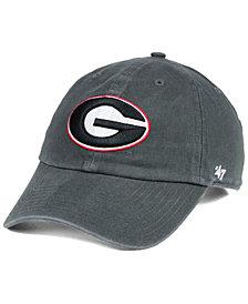 '47 Brand Georgia Bulldogs CLEAN UP Strapback Cap