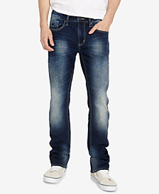 Buffalo David Bitton Men's Six-X Indigo Jeans