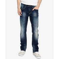 Macys deals on Buffalo David Bitton Mens Six-X Indigo Jeans