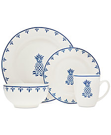 Godinger Pineapple 16-Pc. Dinnerware Set, Service for 4