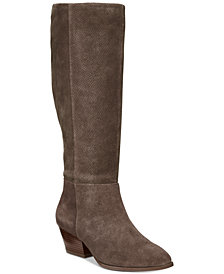 Style & Co Izalea Suede Dress Boots, Created for Macy's