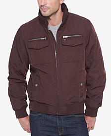 Tommy Hilfiger Men's Four-Pocket Filled Performance Jacket