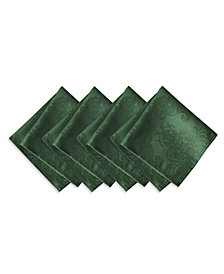 Elrene Barcelona  Hunter Set of 4 Napkins