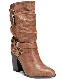 Carlos by Carlos Santana Paisley Mid-Shaft Boots