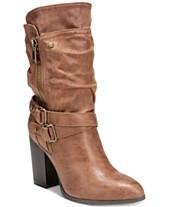 3cb6e9f5c0b Carlos by Carlos Santana Paisley Mid-Shaft Boots