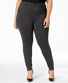 Trendy Plus Size High-Rise Jeggings