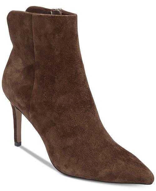 b240e546a STEVEN by Steve Madden Leila Booties   Reviews - Boots - Shoes - Macy s