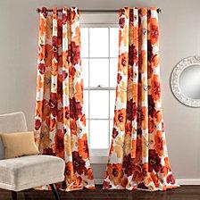 "Leah Room Darkening 52"" x 84"" Window Curtain Set"
