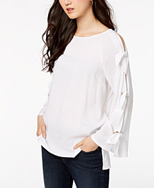 Love Scarlett Petite Tie-Sleeve Top