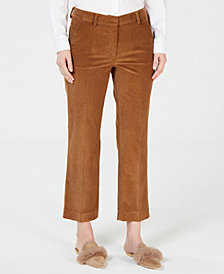 Weekend Max Mara Corduroy Ankle Pants