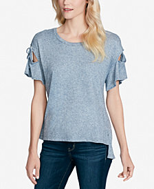 Jessica Simpson Juniors' Aria Tie-Sleeve Top