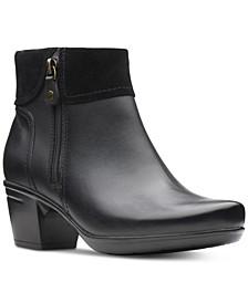 Women's Emslie Twist Leather Booties