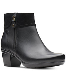 Clarks Women's Emslie Twist Booties