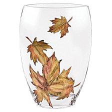 Leaves 11 Inch Vase