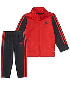 adidas Toddler Boys 2-Pc. Tricot Jacket & Pants Set