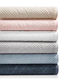 LAST ACT! Juliette LaBlanc Cotton Zig-Zag Textured Towel Collection