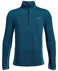 Under Armour Big Boys Seamless Quarter-Zip Pullover