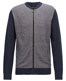 BOSS Men's Regular/Classic-Fit Bomber Jacket
