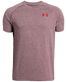 Under Armour Big Boys Logo-Print T-Shirt