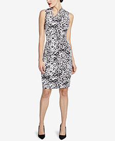 RACHEL Rachel Roy Axel Leopard-Print Dress, Created for Macy's