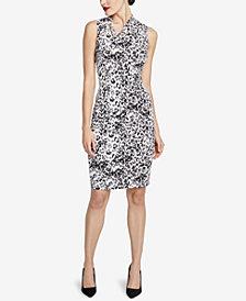 RACHEL Rachel Roy Axel Leopard-Print Dress, Created for Macy's