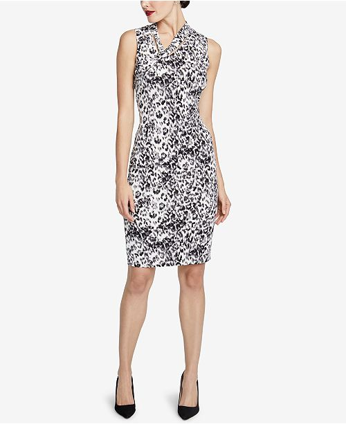 aa2b0e0e5f4e ... RACHEL Rachel Roy Axel Leopard-Print Dress, Created for Macy's ...