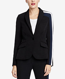 RACHEL Rachel Roy Darby Striped Blazer, Created for Macy's