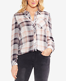 Vince Camuto Plaid Shirt