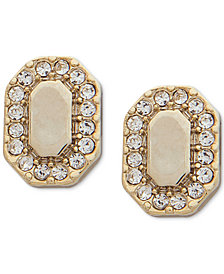 Ivanka Trump Gold-Tone Crystal Stud Earrings