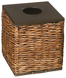 CLOSEOUT! Tommy Bahama Retreat Wicker Tissue Box