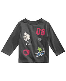 First Impressions Baby Boys Cotton Patches T-Shirt, Created for Macy's