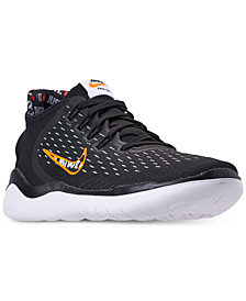 Nike Men's Free RN 2018 Just Do It  Running Sneakers from Finish Line
